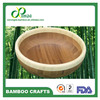 OEM Food grade bamboo bowl with healthy oil finished for food &fruit &salad