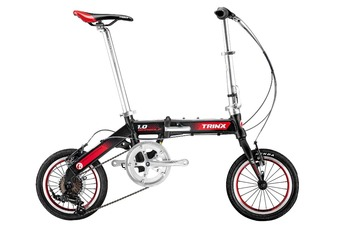 14 inch Aluminum alloy folding bike with RS35 7 speed from Trinx Bicycle Factory