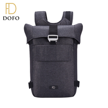 Promotion wholesale custom logo polyster vintage student school backpack