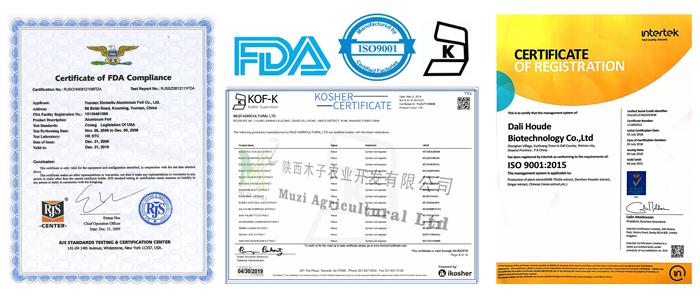 Migliore Qualità di Massa In Polvere 99% CAS 2216-51-5 mentolo prezzo