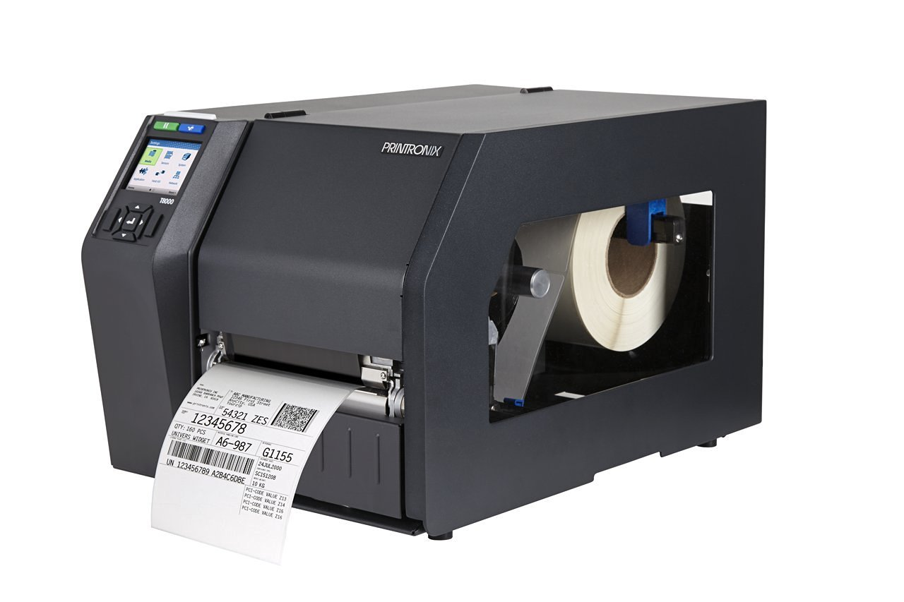 PRINTRONIX T83X4-1140-0 Thermal Transfer Printer T8304, Standard Emulations, USB 2.0 and Printnet 10/100 Baset