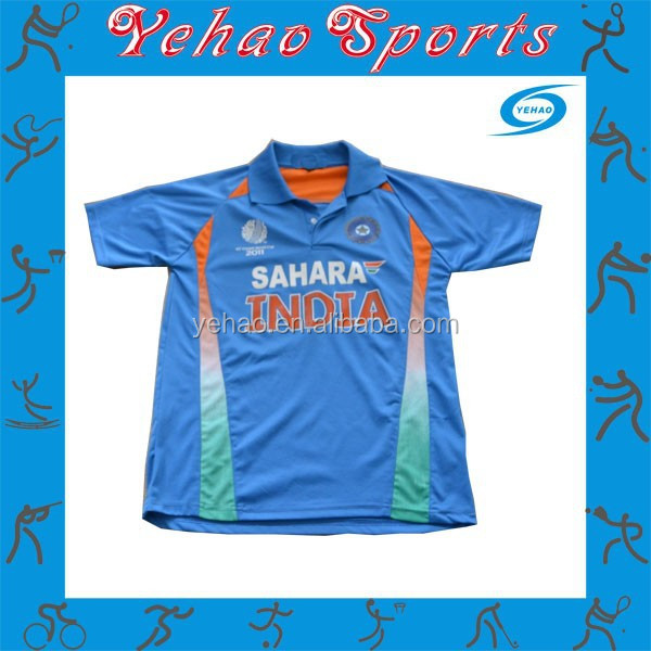 low priced 059d3 bd6b5 Jersey Number Of Indian Cricket Team Make Cricket Jersey - Buy Custom  Cricket,Make Cricket Jersey,Jersey Number Of Indian Cricket Team Product on  ...