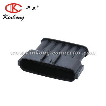 6 pin blade waterproof electrical connector for Toyota