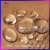 wholesale 30mm cabochon cut glass gems clear synthetic stones