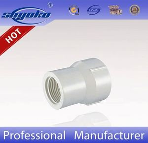 pvc coupling/pipe fittings for Water Pipe Quick Coupling With Brass Male Thread