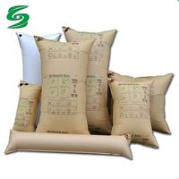 Factory Direct Recyclable Water-proof Brown Kraft Paper Inflatable Dunnage Air Bag