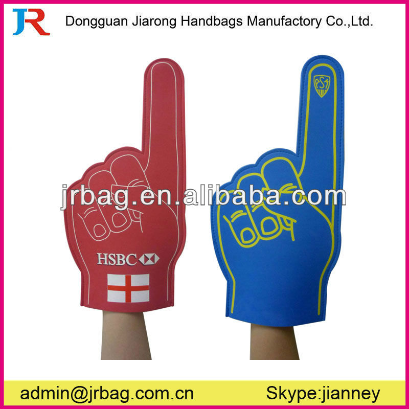 promotion eva foam cheering hand for fans