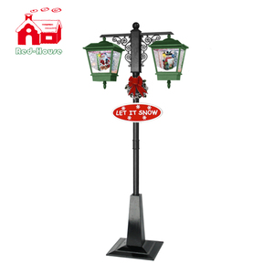 all match snowing double lamps of Christmas Decoration 2015