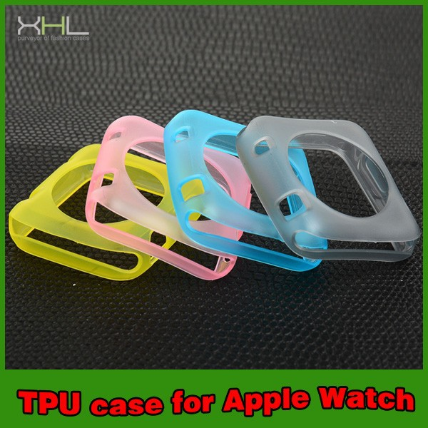 New Product Matt Jelly TPU Cover Case For Apple Watch
