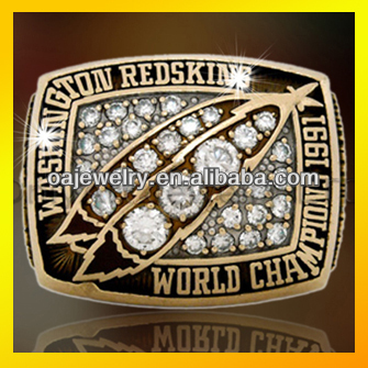 wholesale 1991Washington replica world championship rings
