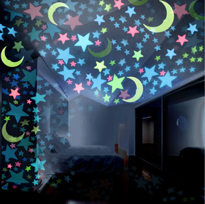Boce cheap sell pp glow in the dark stars wall stickers