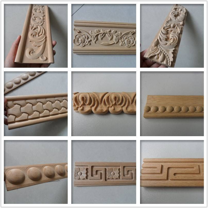 Carved decorative wood moulding trim, View wood moulding, BaiYi Product  Details from Linyi United International Trading Co , Ltd  on Alibaba com