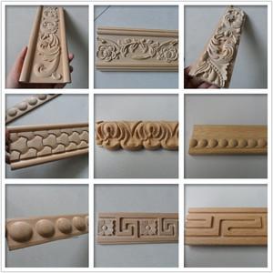 Carved decorative wood moulding trim
