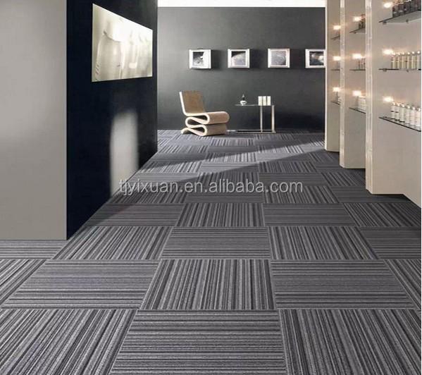 Home Office Vinyl Flooring Tiles In Dubai: Wholesale Commercial Carpet Tiles 50x50,Nylon Carpet For