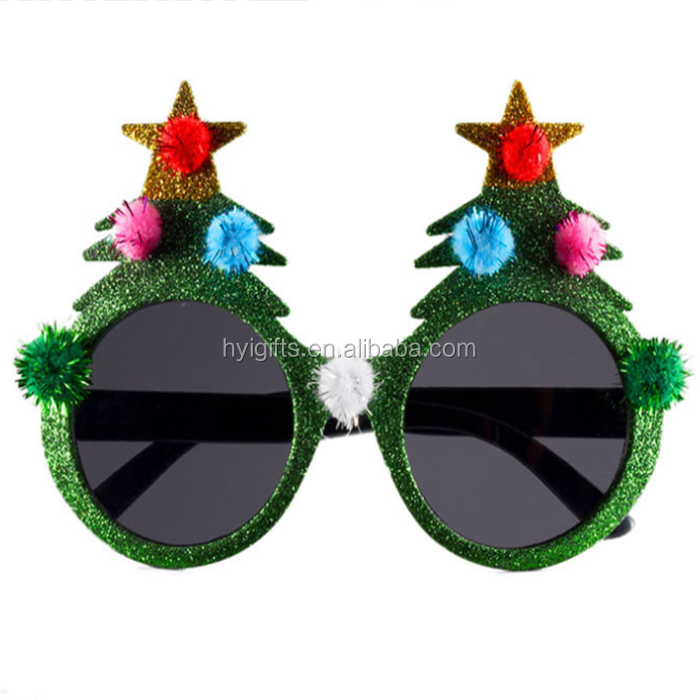 Apparel Accessories Fashion Christmas Decoration Glasses Children Christmas Gifts Holiday Supplies Paper Led Party Creative Glasses Men's Glasses