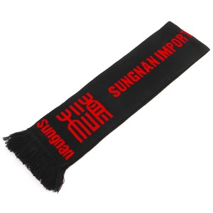 holiday scarf happy meeting club fan sports scarves football scarf