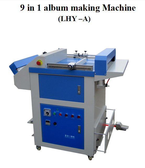 Semi Automatic Photobook making machine