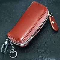 High Quality Materials leather car key case