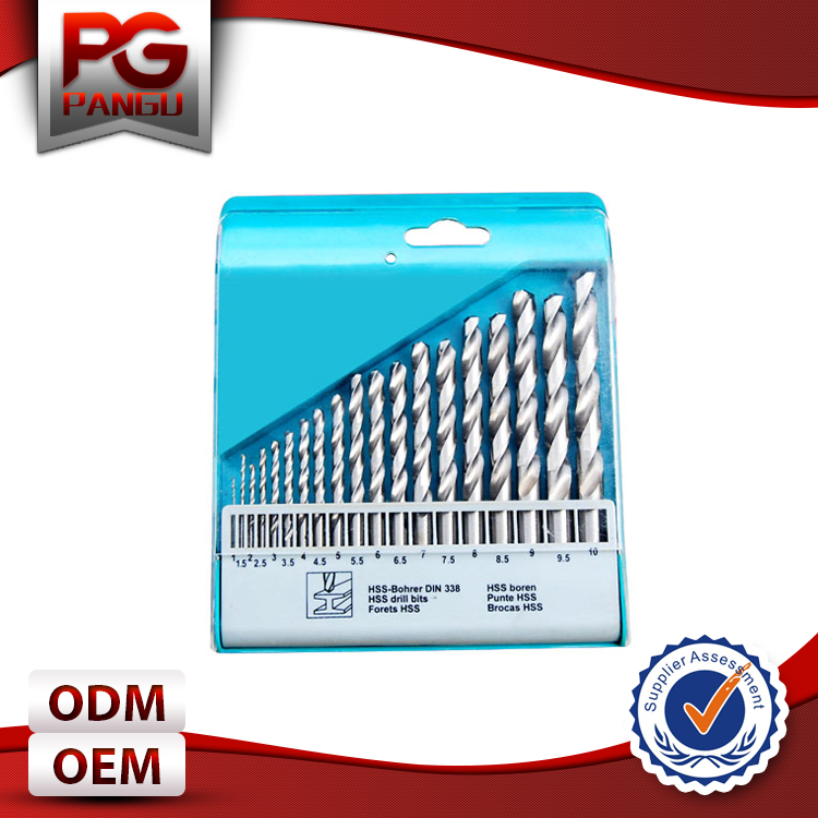 Factory Direct Sale High Quality Hss Drill Bit Set