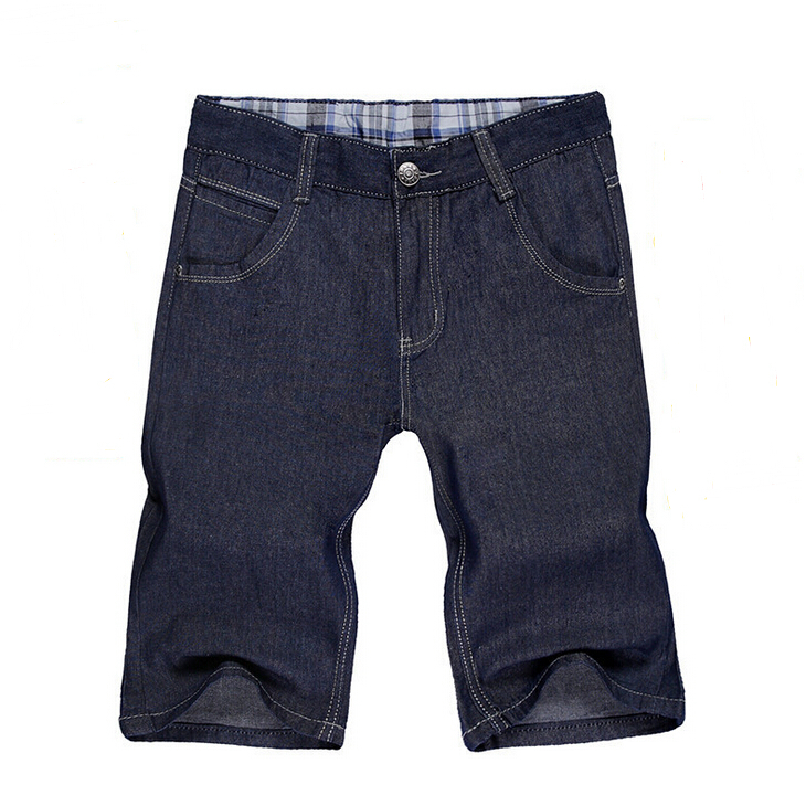 100% Brand Shorts Jeans 2015 New Fashion Men's Jeans Shorts Size 28-40,100% Cotton,Dark Color,Men's Casual Shorts