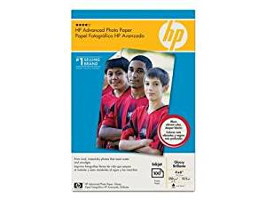 HEWLETT PACKARD HP Advance Glossy Paper 4x 6 100 Sht