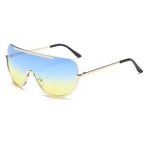 multicolored sunglasses japanese designer fashion sun glasses frame men with logo