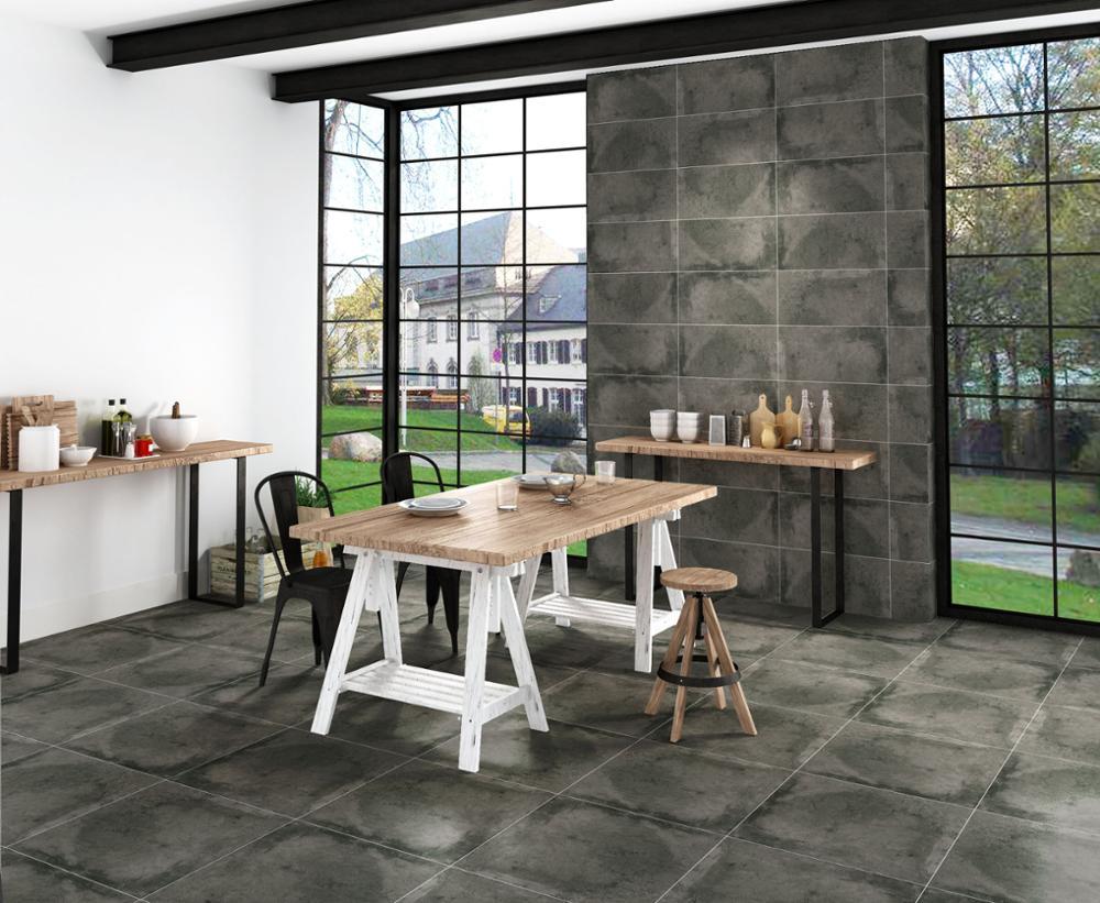 2017 industrial cement block commercial kitchen non-slip porcelain
