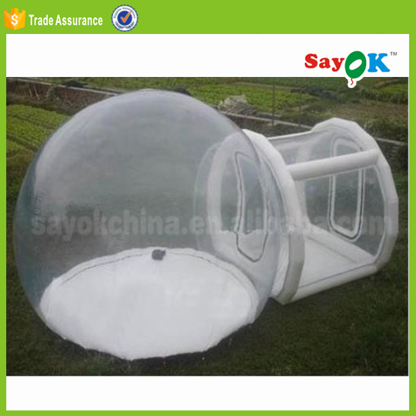 Verlichting Transparante Bubble Tent Opblaasbare Iglo Camping Tent ...