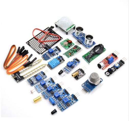 16 Kinds Of Sensor Module Package Raspberry Pi 3
