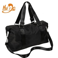 fashion custom weekend travel bag ladies women canvas tennis racket sport gym tote bag