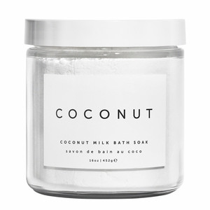 All Natural Skin Whitening Coconut Milk Bath Soak Bath Salt