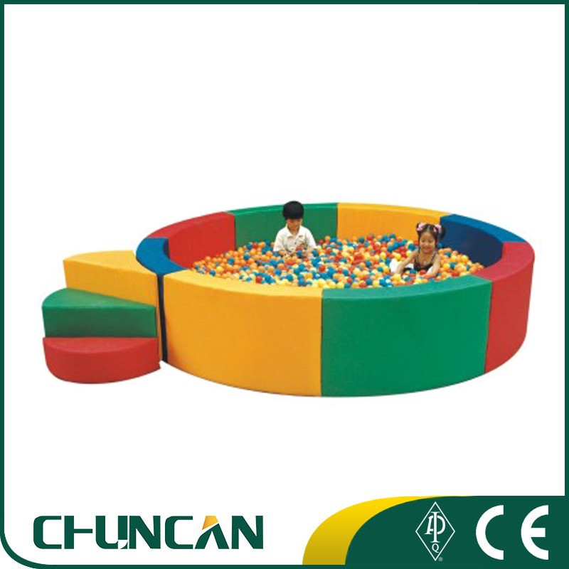 CC-6706 Kids indoor Soft Play Equipment Plastic Toys soft ocean ball pool