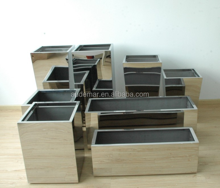 China Large Contemporary Planters Metal Square