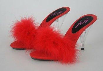 Ladies sexy lingerie bedroom shoes buy sexy high heel - Ladies bedroom slippers with heel ...
