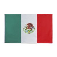 Wholesale Stock 3x5 Fts Print MEX MX Mexican Mexico National Flag