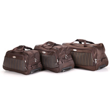 Custom made multi-functioned travel bag easy-holded luggage sports bag with shoe compartment