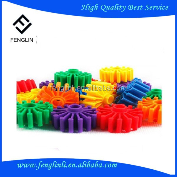 plastic shaft single double crown gears made in China