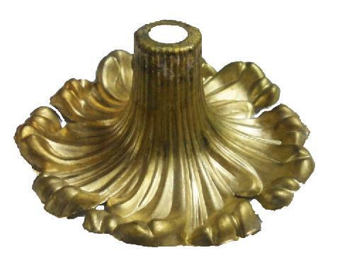 Die-cast copper fittings, copper light fittings , crystal lamps , copper fittings , copper die-casting flowers cover YF-F440 #