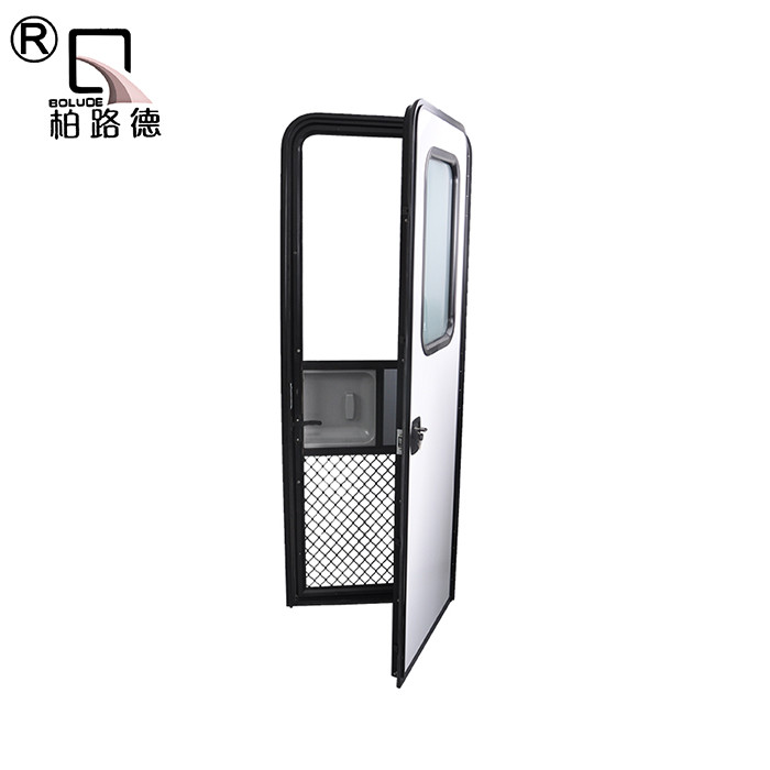 Professional made high strength best design rv caravan door