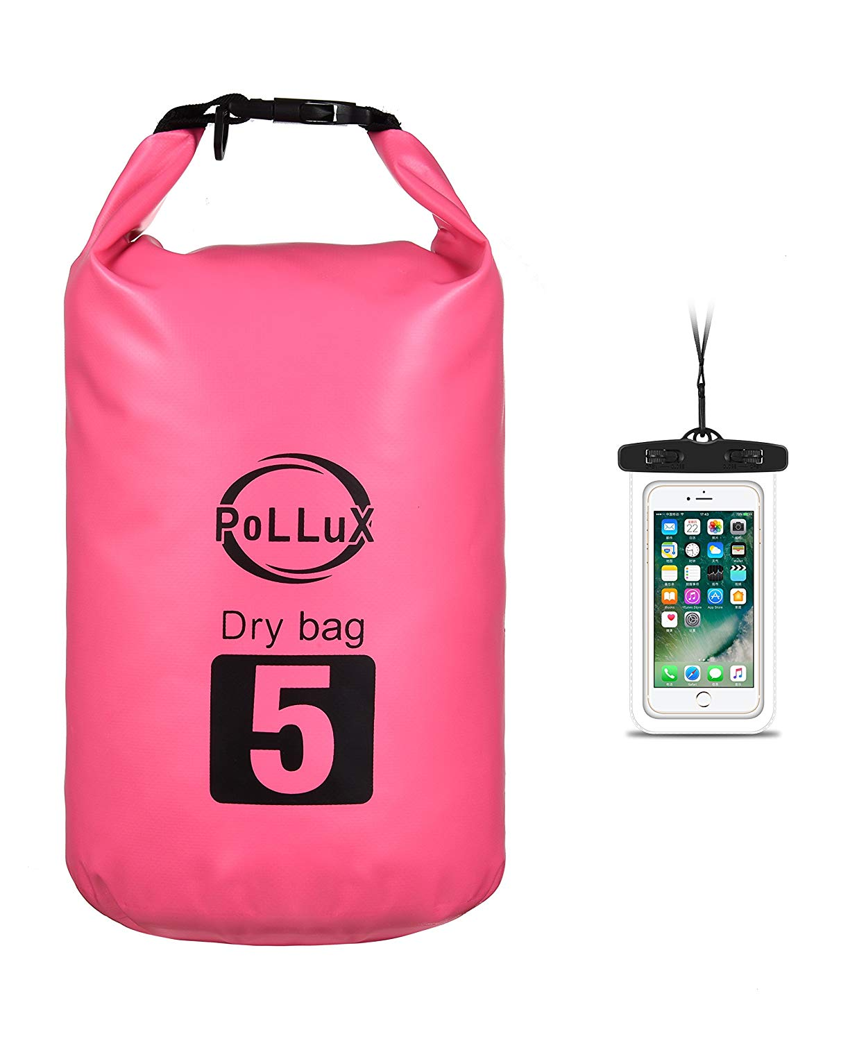 Get Quotations · Dry Bag 2L 5L 10L 20L - Waterproof Ultralight Portable  Personal Backpack Compression 8922d787c0d3c