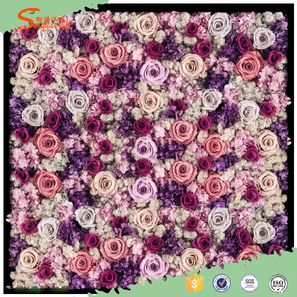 Mur De Fleurs Artificielles Fleurs Mur Decor De Mariage Toile De