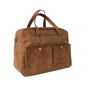 Loostar Men S Leather Travel Duffle Bag Weekend For Carry On Weekender Bags Luggage Product