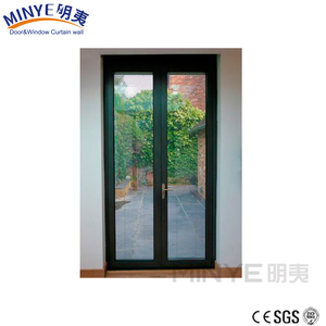 Verity competitive price aluminum casement glass door on sale