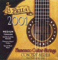 La Bella 2001M Medium Tension Classical Guitar Strings