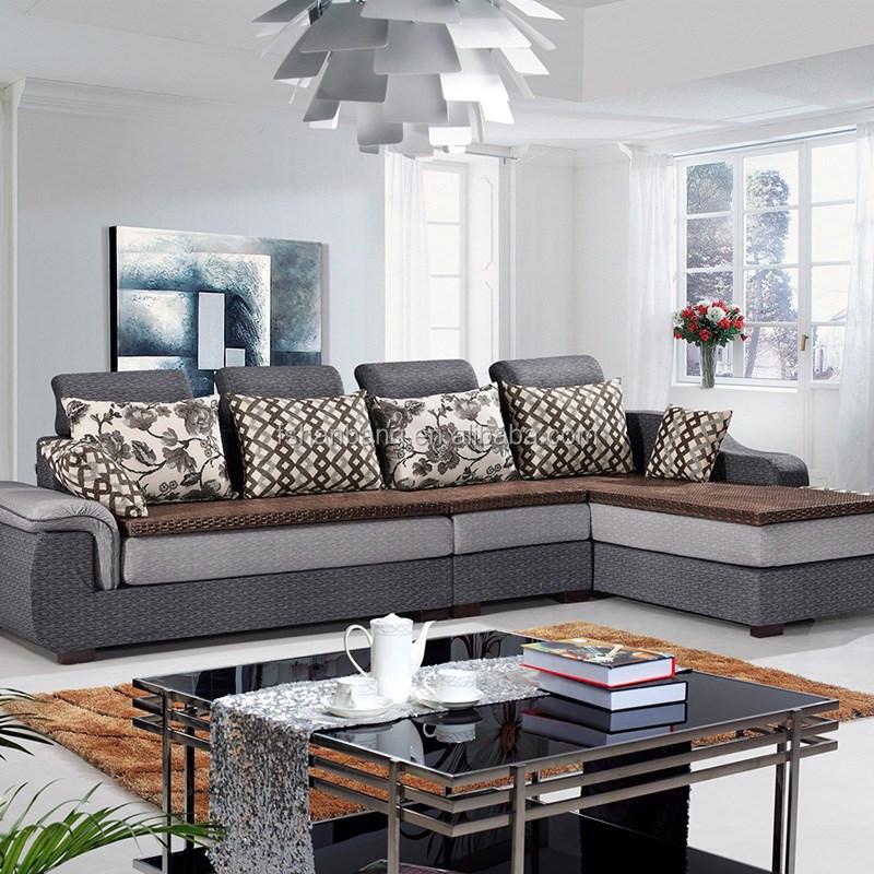 Living Room Furniture Modern Fabric Designs European