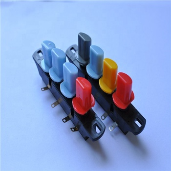 kitchen appliances 4 keys push button type piano switch for blender