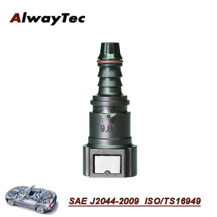 10mm, ID8 Nylon fuel quick new payment connect adapter, nipple coupling
