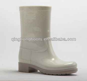 Grey Short Beautiful Rain Boots For Women - Buy Grey Rain Boots ...
