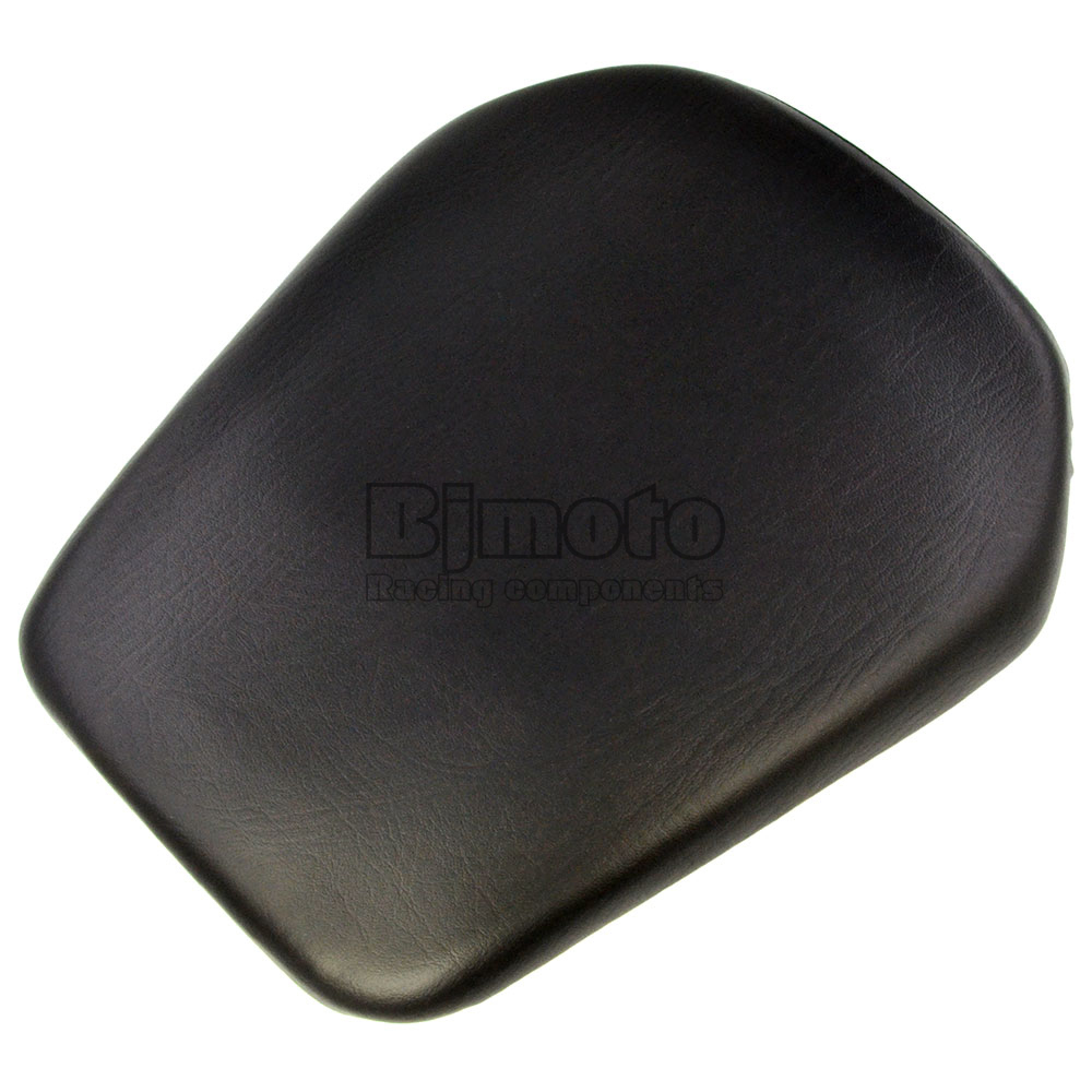 Black Seat Cover For Honda CBR 1000RR 2008-2011 Seat Vintage Leather Motorcycle Rear Passenger Seat Cushion Pillion