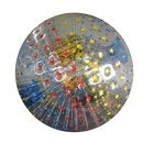 Top Grade Free Logo Printing Safe Harnesses 2.5m PVC Zorb Ball Rental for Kids